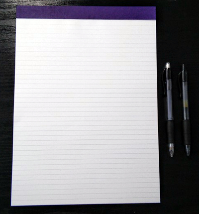 Brainstormer Notepad