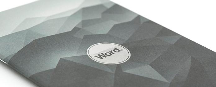 Word Black Mountain Strip