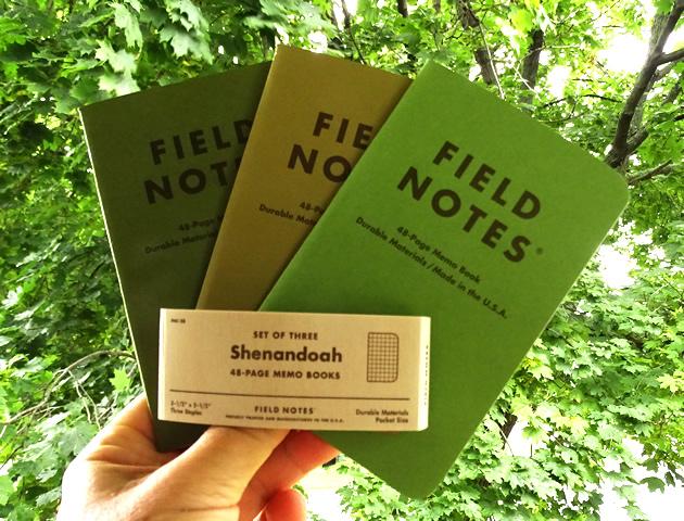 Field Notes Shenandoah
