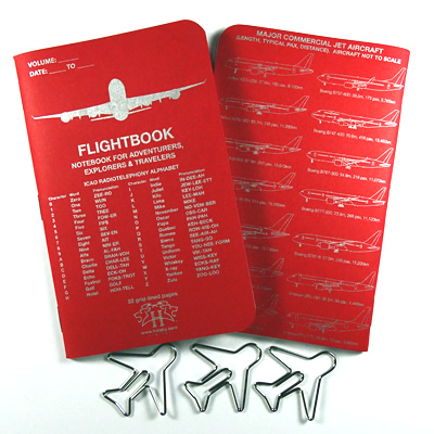 Flightbook Red