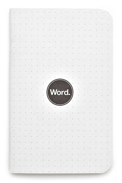 Word Dot Grid Notebook