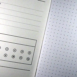 Word Dot Grid Page