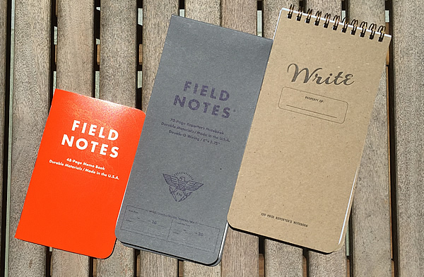 Field Notes Expedition (standard size 3.5 x 5.5) for comparison