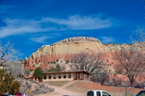 Ghost Ranch welcome center
