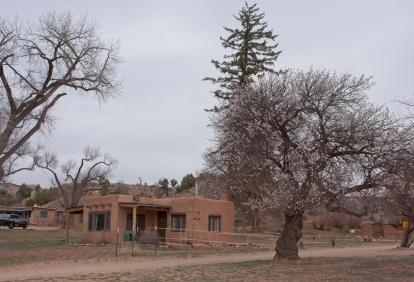 Georgia O'Keefe's cottage