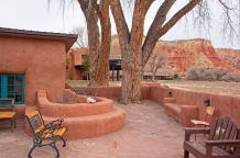 Adobe patio